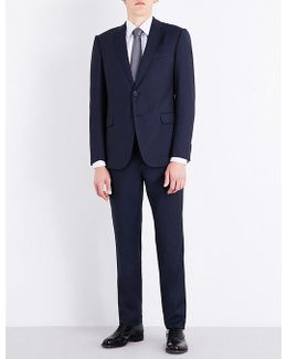 Academy-fit Striped Wool Suit