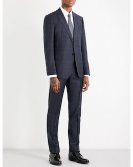 Checked Wool Suit
