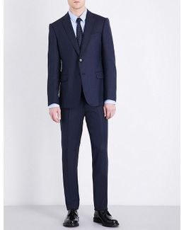 Tailored-fit Wool-blend Suit