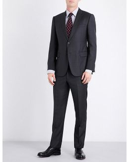 Pindot Wool Suit