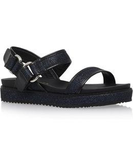 Bare Double Strap Sandals