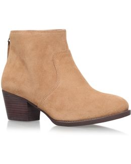 Bolt High Heel Ankle Boots