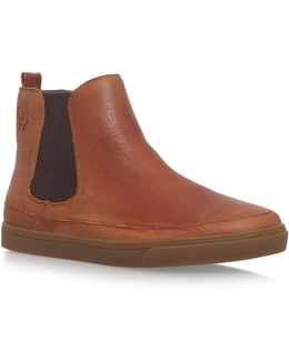 Bunker Flat Ankle Boots