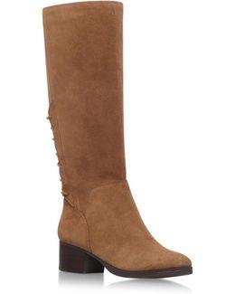 Cascades Low Heel Knee Boots
