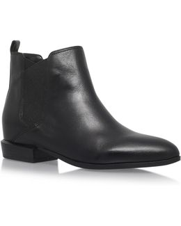 Pleaser3 Low Heel Ankle Boots