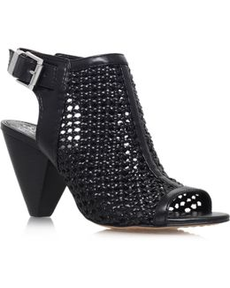 Emilia High Heel Peep Toe Shoe Boots