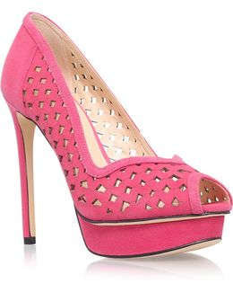 Estate High Heel Court Shoes