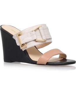 Funtimes High Wedge Heel Sandals
