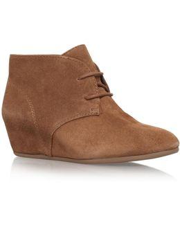 Joanis Mid Wedge Heel Boots