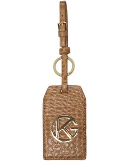 Luggage Tag Key Ring