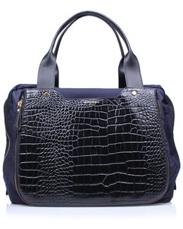 Nylon Croc Gym Bag