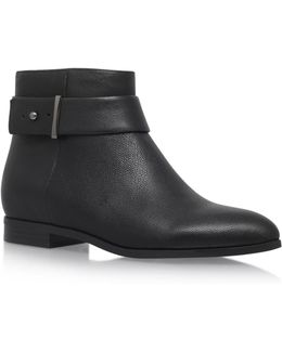 Objective Low Heel Ankle Boots