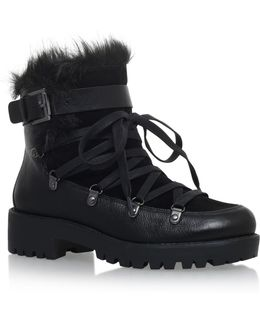 Orynne Leather Ankle Boots