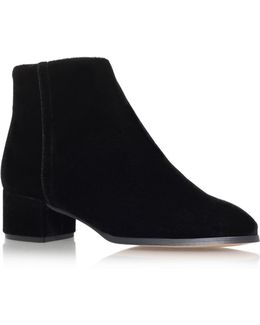 Roxy Mid Heel Ankle Boots