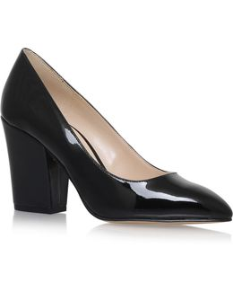 Sheila Point-toe Leather Pumps