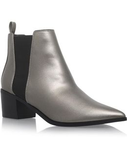 Senta Pointed Toe Ankle Boots