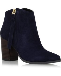 Smashing High Heel Zip Up Ankle Boots