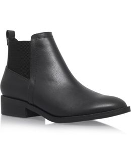 Tion Flat Ankle Boots