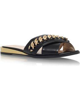 Xray Flat Chain Detail Slip On Sandals