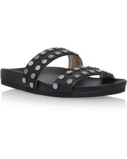 Zelise Flat Slip On Sandals