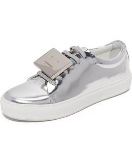 Adriana Metallic Sneakers
