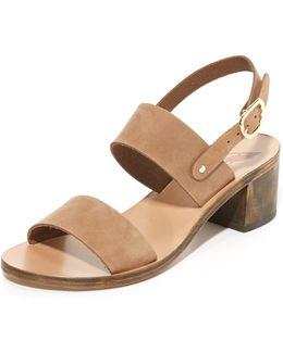 Lefki Block City Sandals