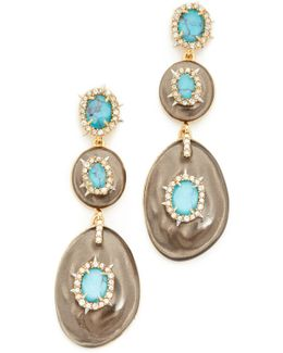 Liquid Silk Dangling Earrings