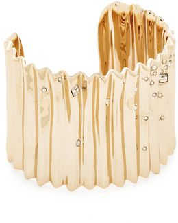 Pleated Cuff Bracelet