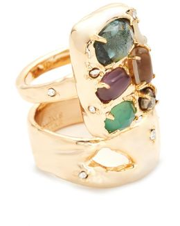 Assorted Stone Ring