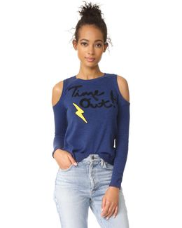 Wade Cold Shoulder Sweater