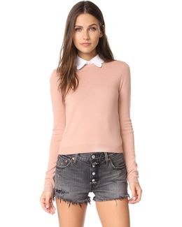 Dia Scallop Sweater