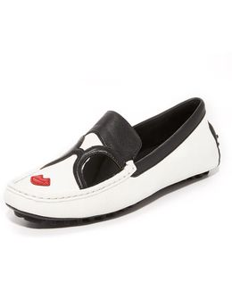 Stace Face Driver Loafers