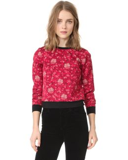 Marylou Back Zip Sweatshirt