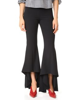 Jinny High Low Flare Pants