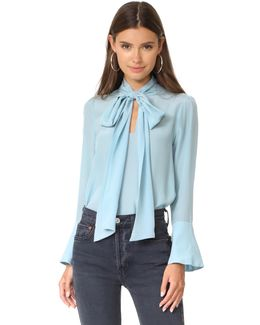 Wesley Bow Neck Blouse