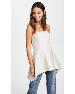 Duncan Strapless Top