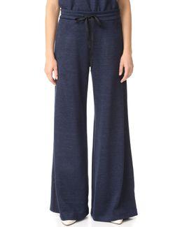 Wide Leg Drawstring Pants