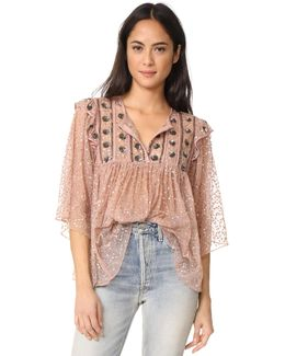 Pati Embroidered Blouse
