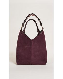Bucket Bag With Small Hearts