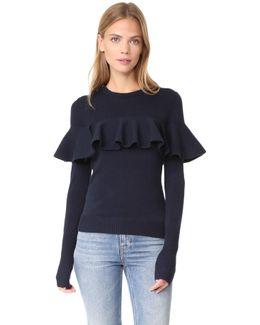 Knit Ruffle Sweater