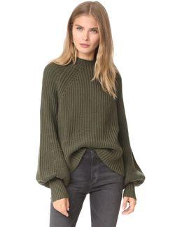 Sequoia Mock Turtleneck Sweater