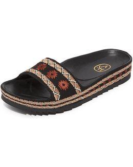 Uma Slide Sandals