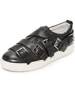 Premium Buckle Sneakers