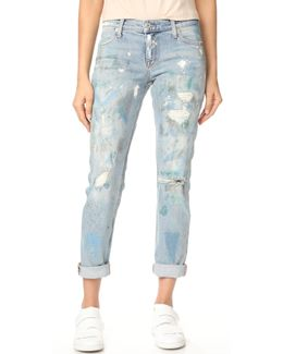 Kennedy Mid Rise Boyfriend Jeans