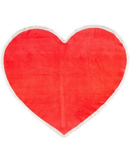Sweetheart Giant Heart Towel