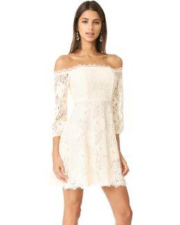 R.s.v.p By Jasmin Off Shoulder Dress