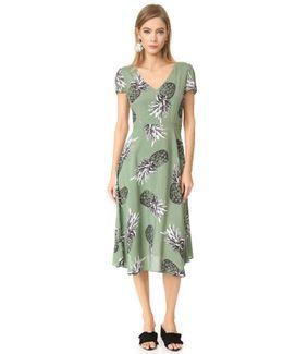 Emilienne Printed Midi Dress