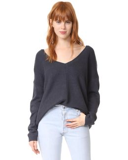 Jack By Comber Deep V Sweater