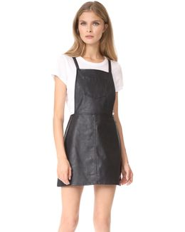 Jack By Robison Faux Leather Dress