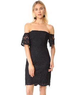 Rsvp Nathalie Off Shoulder Lace Dress